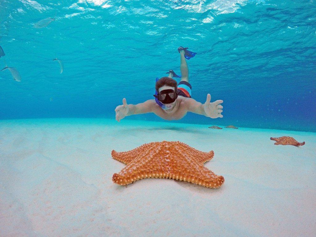 snorkelig in the Riviera Maya